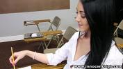 Video Bokep InnocentHigh College student Sabrina Banks ass licked and fucked in classroom 3gp